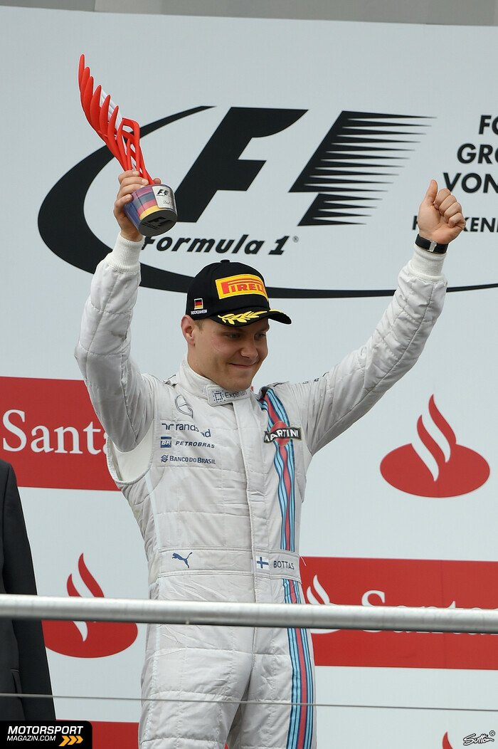 Formel 1 2014, Deutschland GP, Hockenheim, Valtteri Bottas, Williams, Bild: Sutton