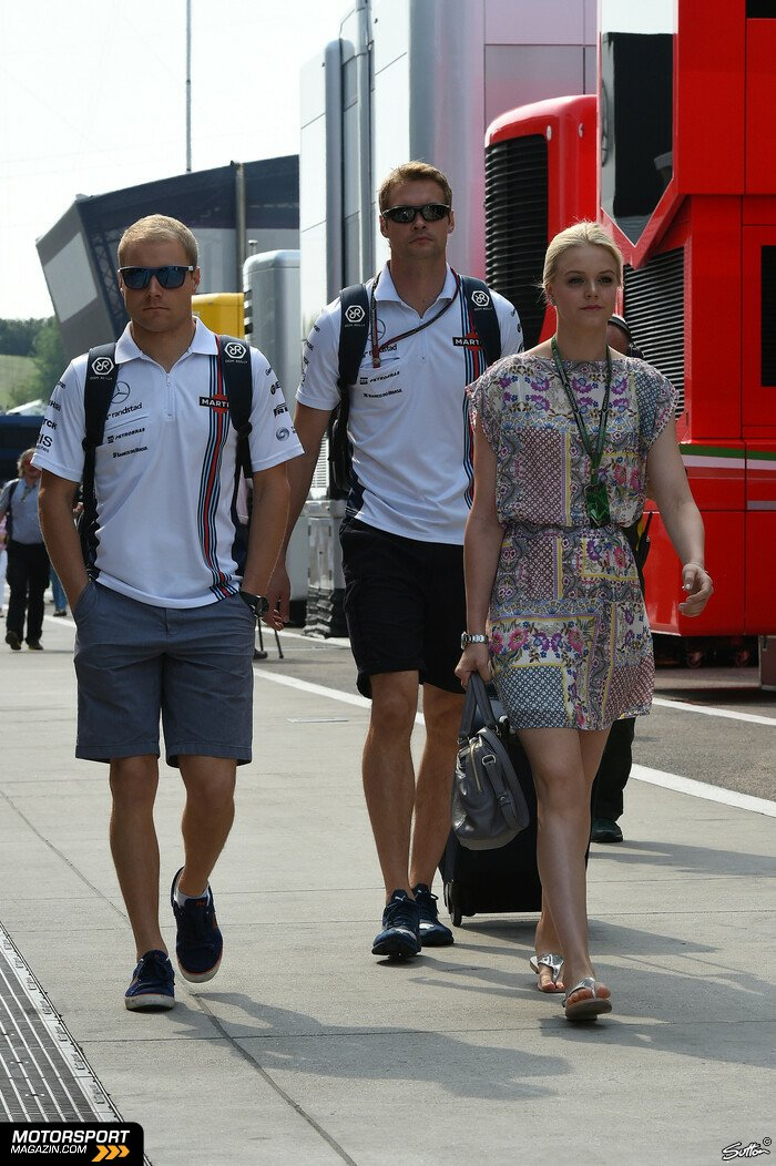 Formel 1 2014, Ungarn GP, Budapest, Valtteri Bottas, Williams, Bild: Sutton