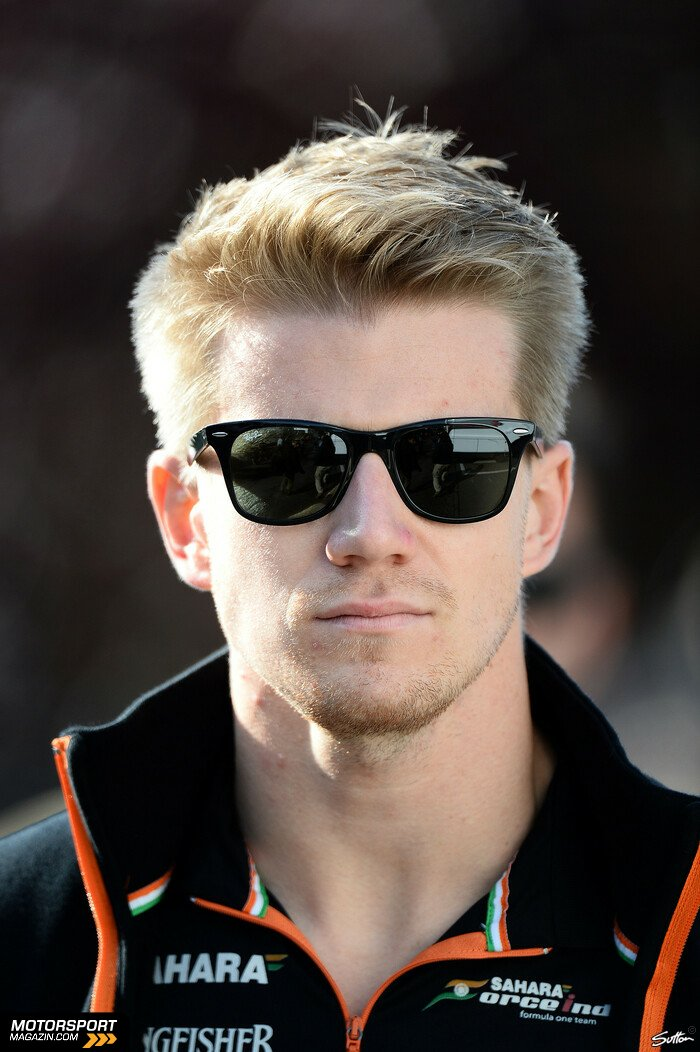 Formel 1 2014, Belgien GP, Spa-Francorchamps, Nico Hülkenberg, Force India, Bild: Sutton