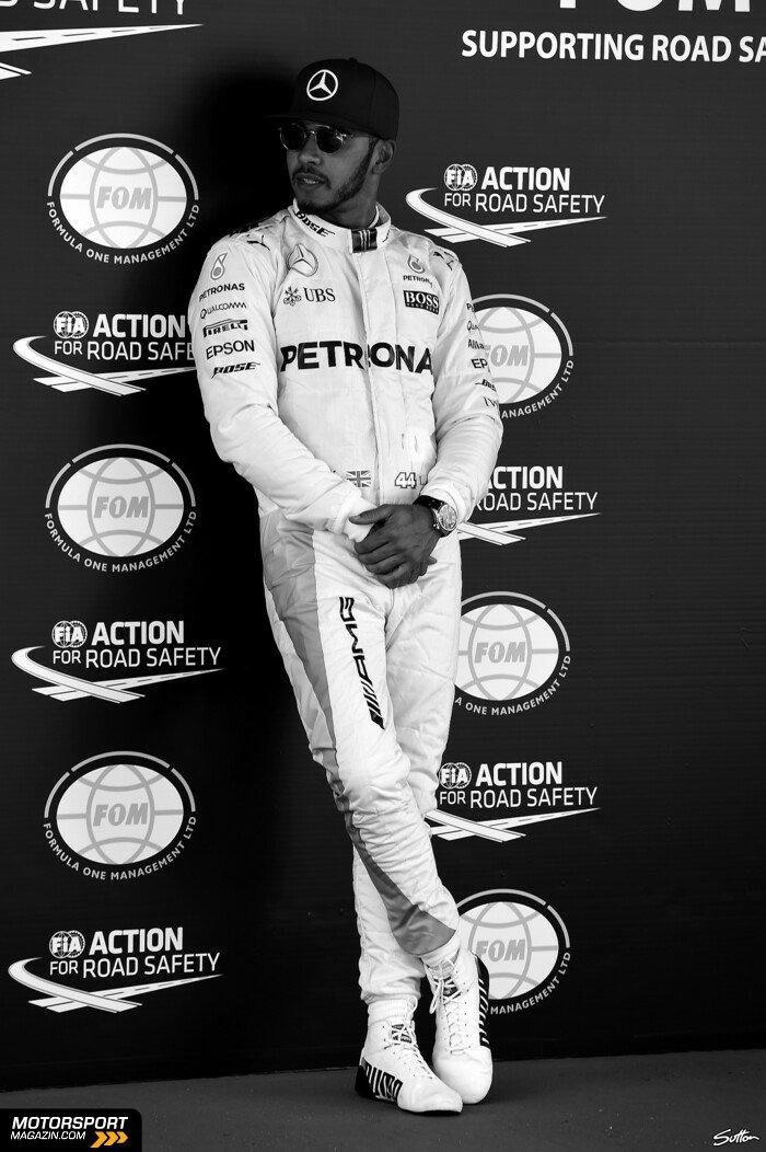 Formel 1 2016, Spanien GP, Barcelona, Lewis Hamilton, Mercedes-AMG, Bild: Sutton