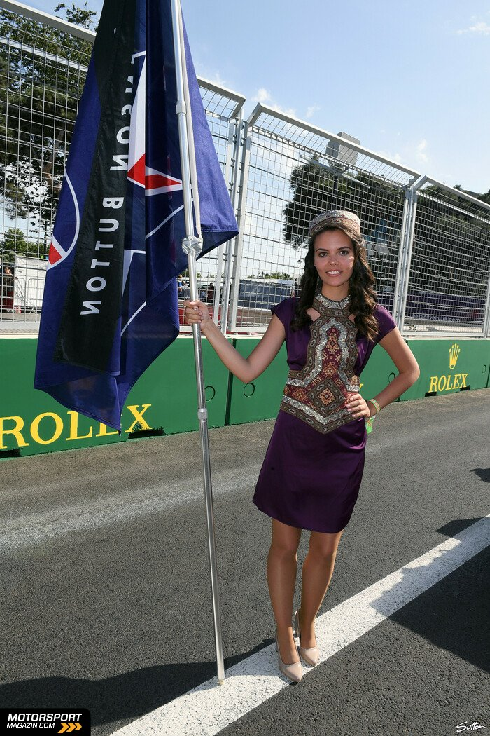 Formel 1 2016, Europa GP, Baku, Jenson Button, McLaren, Bild: Sutton