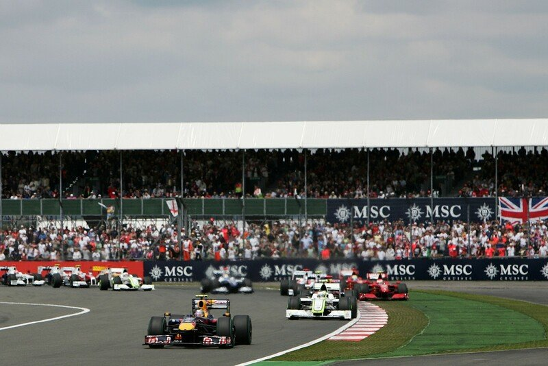 GP Da Inglaterra de F1, Silverstone em  2009 - barrichello.com.br