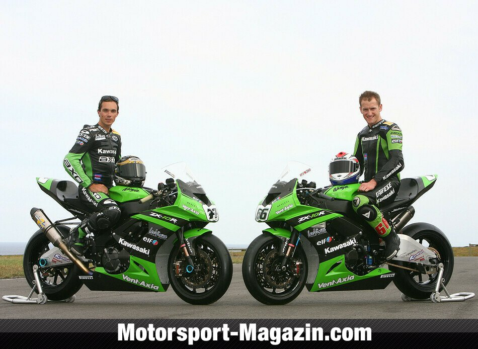 Superbike 2010, Testfahrten, Paul Bird Motorsport, Bild: Kawasaki