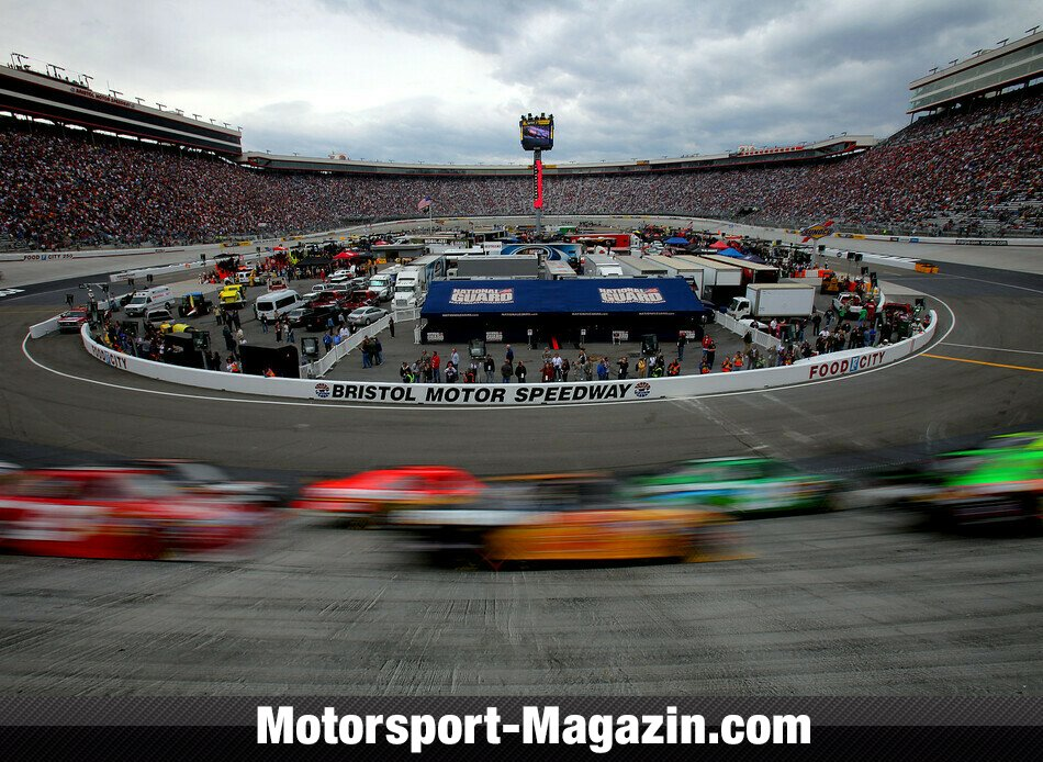 NASCAR 2010, Food City 500, Bristol, Tennessee, Bild: NASCAR
