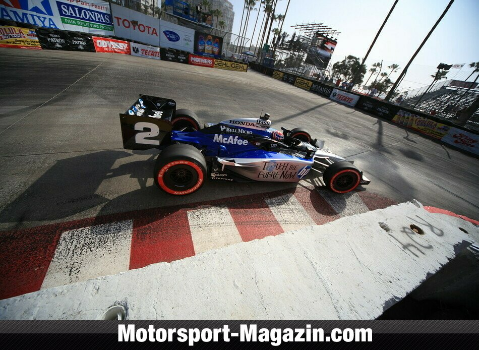 IndyCar 2010, GP of Long Beach, Long Beach, Raphael Matos, Luczo Dragon Racing/de Ferran Motorsports, Bild: IndyCar