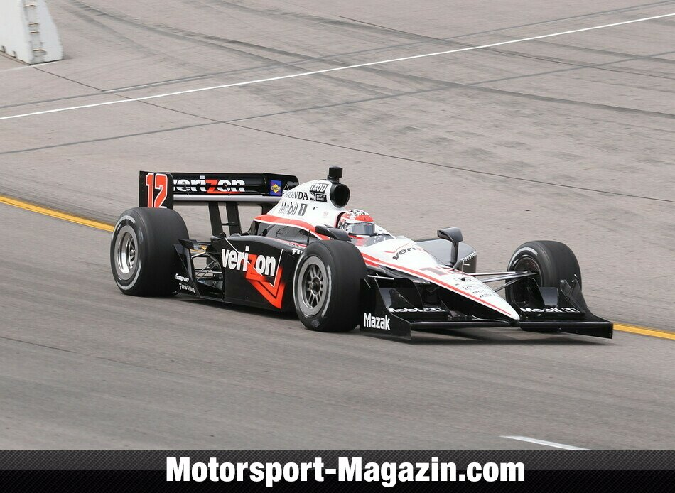 IndyCar 2010, Iowa, Newton, Will Power, Verizon Team Penske, Bild: IndyCar