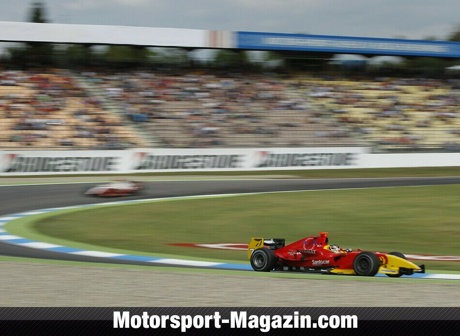 GP2 2010, Hockenheim, Hockenheim, Dani Clos, Racing Engineering, Bild: GP2 Series