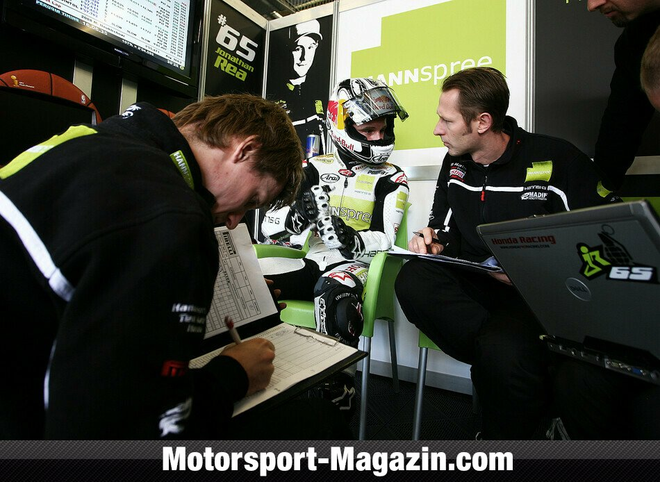 Superbike 2010, Deutschland, N�rburg, Jonathan Rea, Hannspree Ten Kate Honda, Bild: Ten Kate Racing