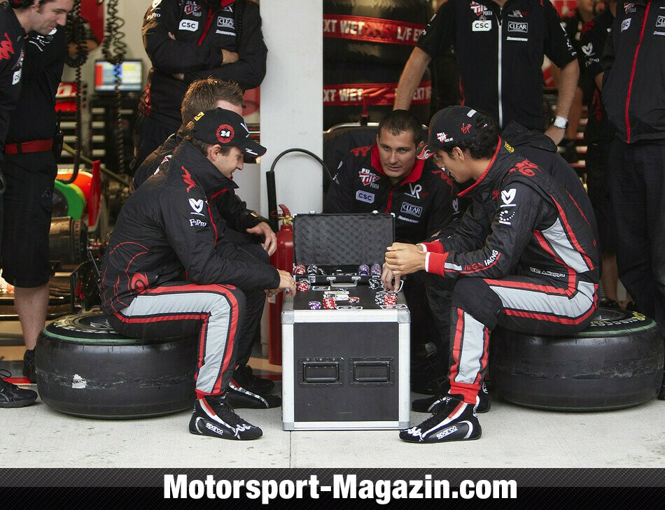 Formel 1 2010, Verschiedenes, Timo Glock, Virgin Racing, Bild: Virgin Racing