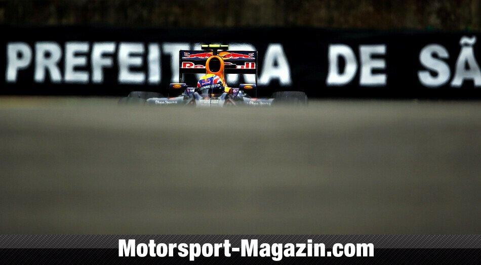 Formel 1 2010, Brasilien GP, São Paulo, Mark Webber, Red Bull, Bild: Red Bull/GEPA