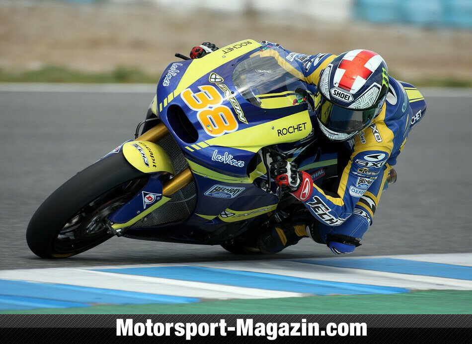 Moto2 2011, Testfahrten, Bradley Smith, Tech 3 Racing, Bild: Milagro