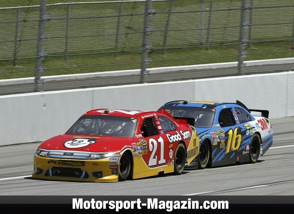 NASCAR 2011, 42nd Annual Aaron's 499, Talladega, Alabama, Bild: Ford