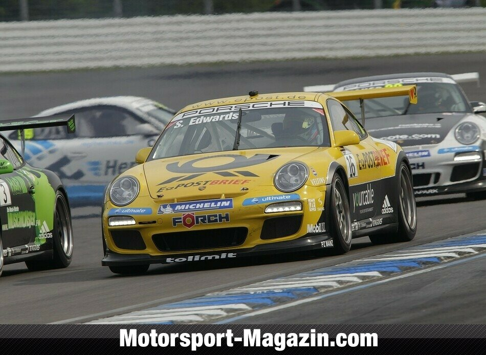 Carrera Cup 2011, Hockenheim I, Hockenheim, Sean Edwards, Team Deutsche Post by tolimit, Bild: Porsche