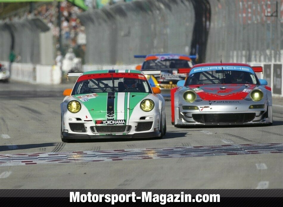 ALMS 2011, Grand Prix of Long Beach, Long Beach, Damien Faulkner, , Bild: ALMS