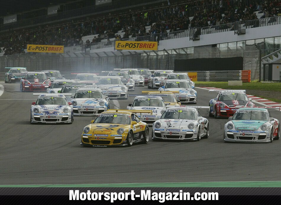 Carrera Cup 2011, Verschiedenes, Sean Edwards, Team Deutsche Post by tolimit, Bild: Porsche