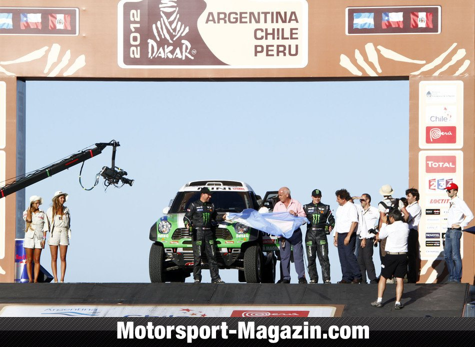 Dakar 2012, Stephane Peterhansel, X-raid, Bild: Willy Weyens