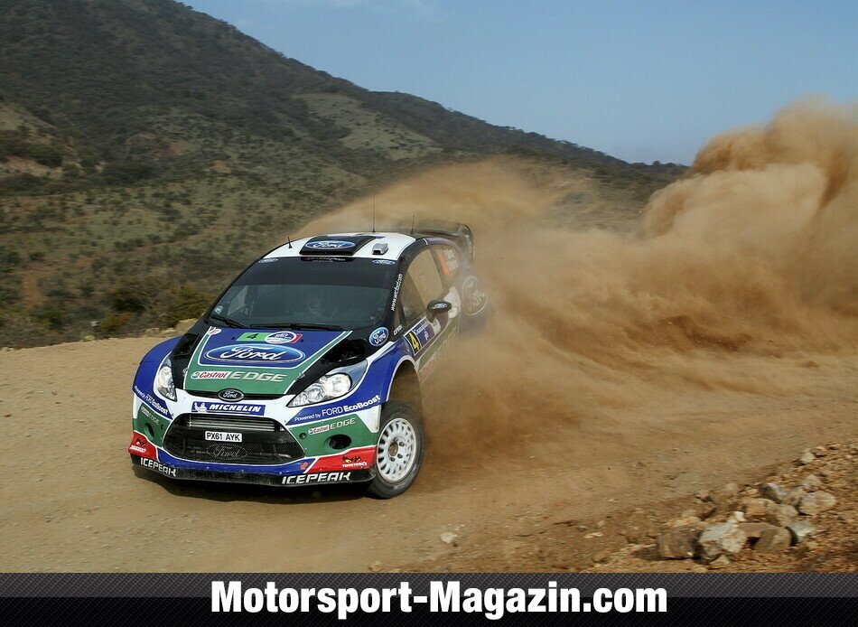 WRC 2012, Rallye Mexiko, Leon-Guanajuato, Petter Solberg, Ford World Rally Team, Bild: Ford