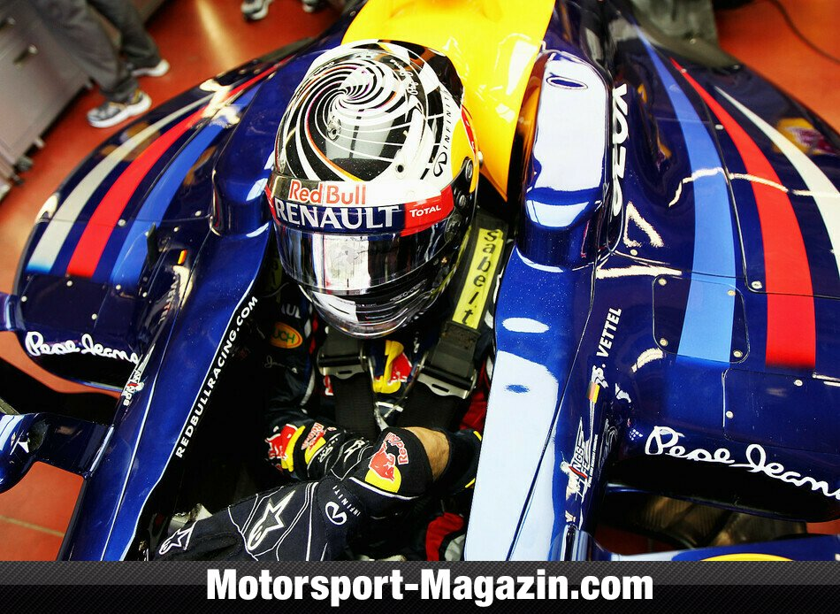Formel 1 2012, Mugello Test, Mugello, Sebastian Vettel, Red Bull Racing, Bild: Red Bull