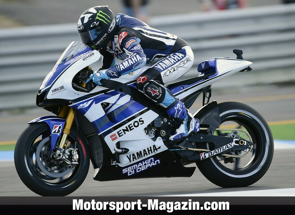 MotoGP 2012, Portugal GP, Alcabideche, Ben Spies, Yamaha Factory Racing, Bild: Yamaha Factory Racing