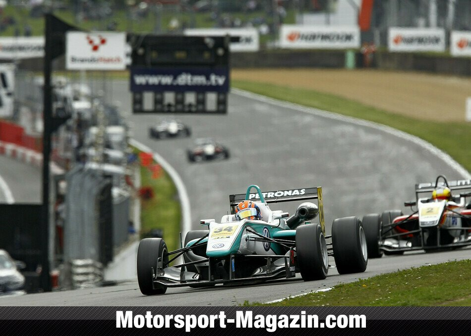 Formel 3 EM 2012, Brands Hatch, Brands Hatch, Jazeman Jaafar, Carlin, Bild: Formula 3 Euro Series