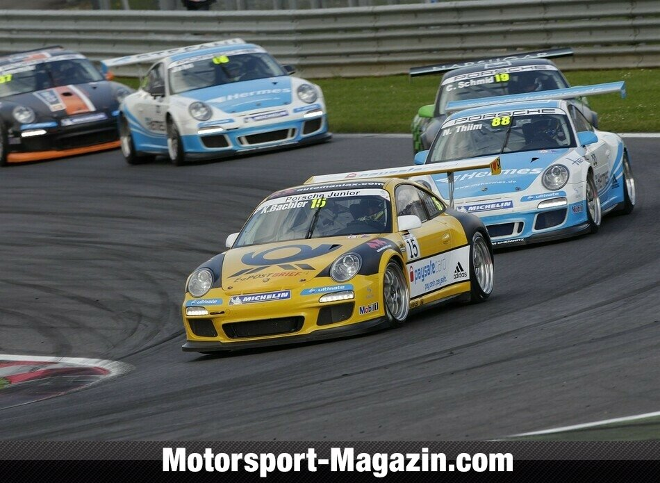 Carrera Cup 2012, Red-Bull-Ring, Spielberg, Klaus Bachler, Team Deutsche Post by tolimit, Bild: Porsche