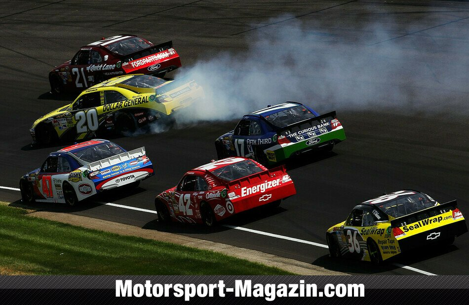 NASCAR 2012, Crown Royal 400 at the Brickyard, Indianapolis, Indiana, Bild: NASCAR