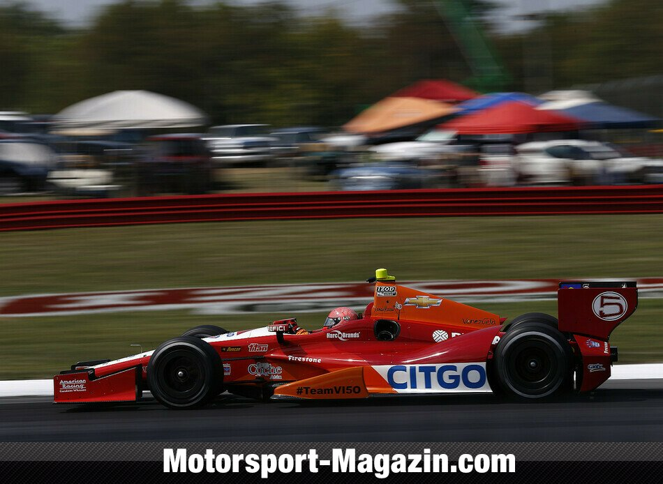 IndyCar 2012, Mid-Ohio, Lexington, Ohio, E.J. Viso, KV Racing Technology, Bild: IndyCar