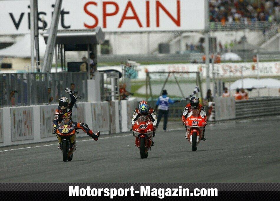 Moto3 2012, Malaysia GP, Sepang, Sandro Cortese, Red Bull KTM Ajo, Bild: KTM