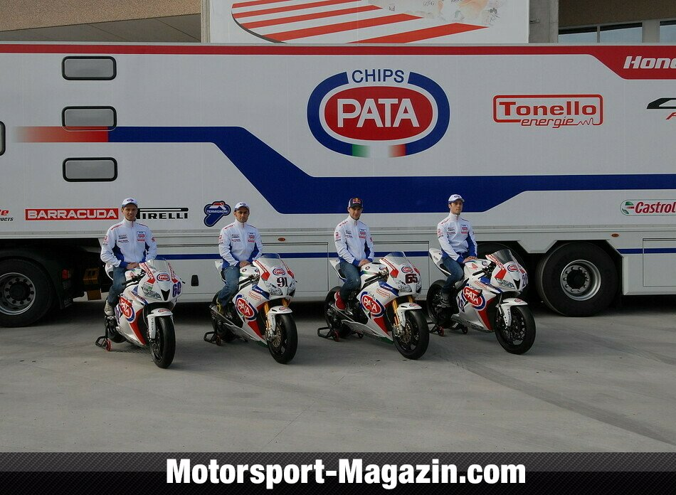 Superbike 2013, Pr�sentationen, PATA Racing Team, Bild: Pata Honda