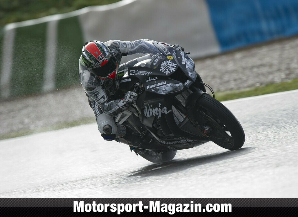 Superbike 2013, Testfahrten, Tom Sykes, Kawasaki Racing Team, Bild: Kawasaki