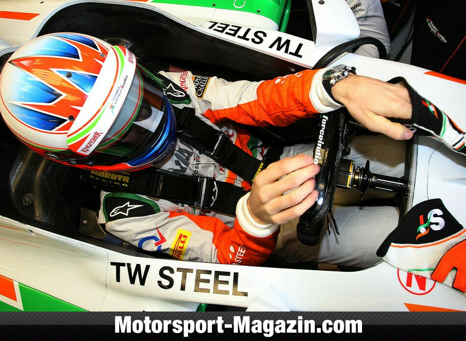 Formel 1 2013, Pr�sentationen, Paul Di Resta, Force India, Bild: Force India
