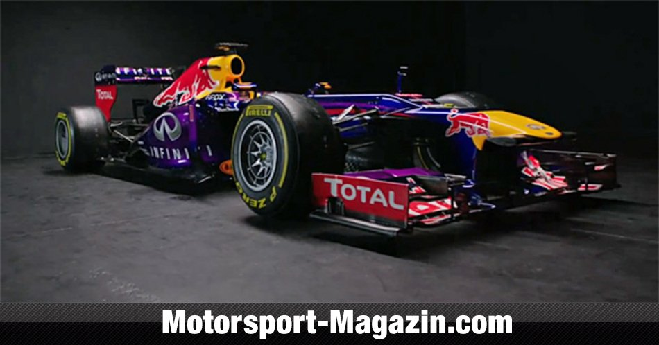 Formel 1 2013, Pr�sentationen, Red Bull Racing, Bild: Red Bull