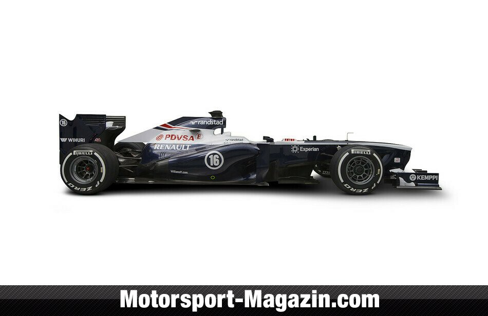 Formel 1 2013, Präsentationen, Bild: Williams