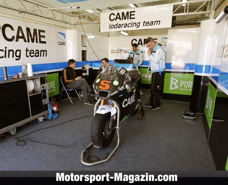 Moto2 2013, Testfahrten, Johann Zarco, Came IodaRacing Project, Bild: Came Ioda Racing