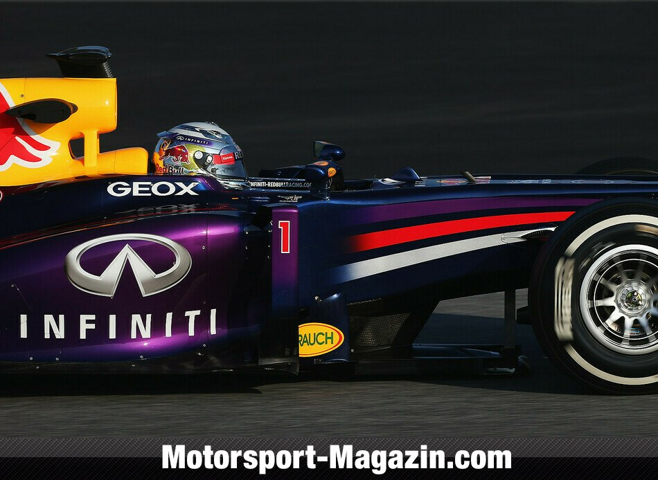 Formel 1 2013, Testfahrten, Sebastian Vettel, Red Bull Racing, Bild: Red Bull