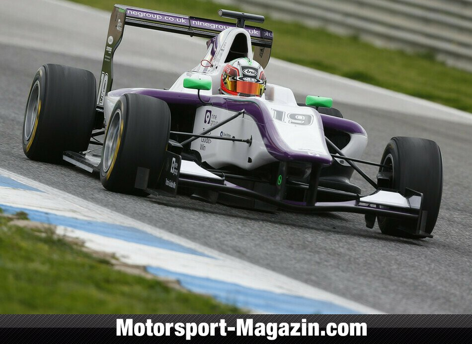 GP3 2013, Testfahrten, Status Grand Prix, Bild: GP3 Series