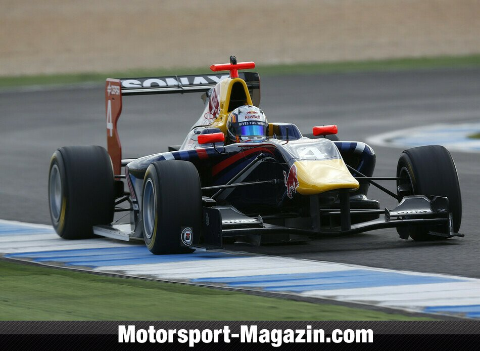 GP3 2013, Testfahrten, Carlos Sainz Jr., MW Arden, Bild: GP3 Series