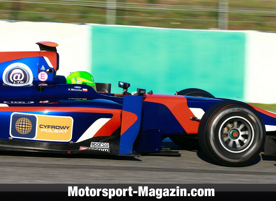 GP2 2013, Testfahrten, Kevin Mirocha, iSport International, Bild: GP2 Series