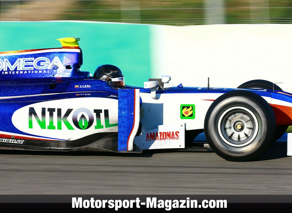 GP2 2013, Testfahrten, Juli�n Leal, Trident Racing, Bild: GP2 Series