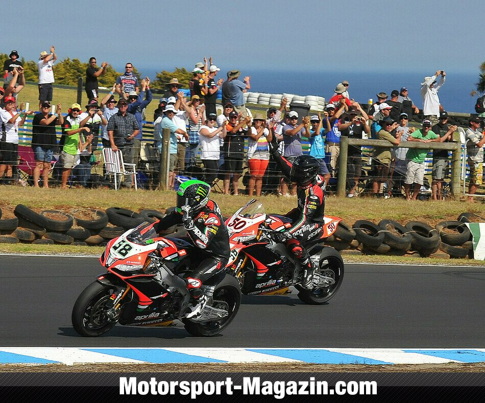 Superbike WSBK 2013, Australien, Phillip Island, Aprilia Racing Team, Bild: Aprilia Racing Team