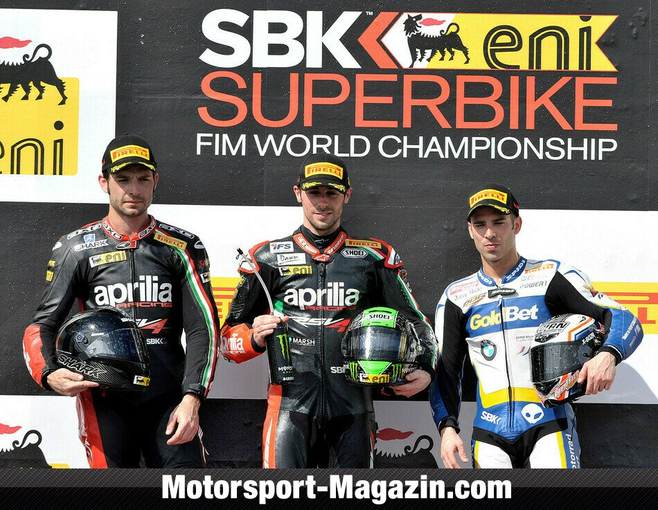 Superbike 2013, Australien, Phillip Island, Aprilia Racing Team, Bild: Aprilia Racing Team
