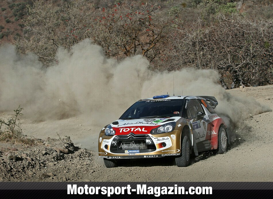 WRC 2013, Rallye Mexiko, Leon-Guanajuato, Chris Atkinson, Abu Dhabi Citroen Total World Rally Team, Bild: Citroen