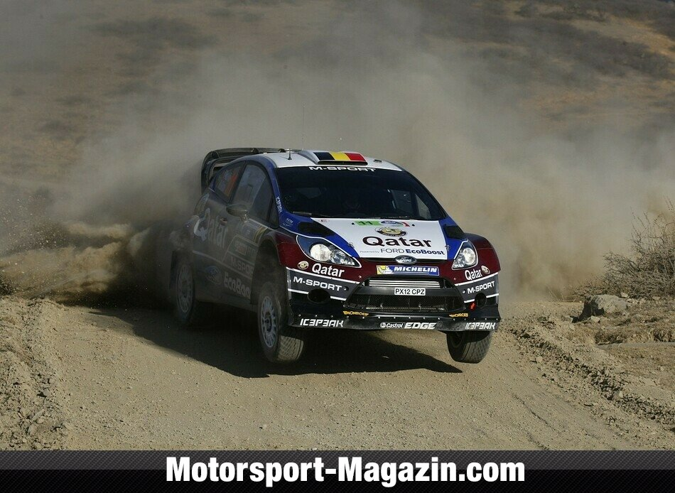 WRC 2013, Rallye Mexiko, Leon-Guanajuato, Thierry Neuville, Qatar World Rally Team, Bild: Ford