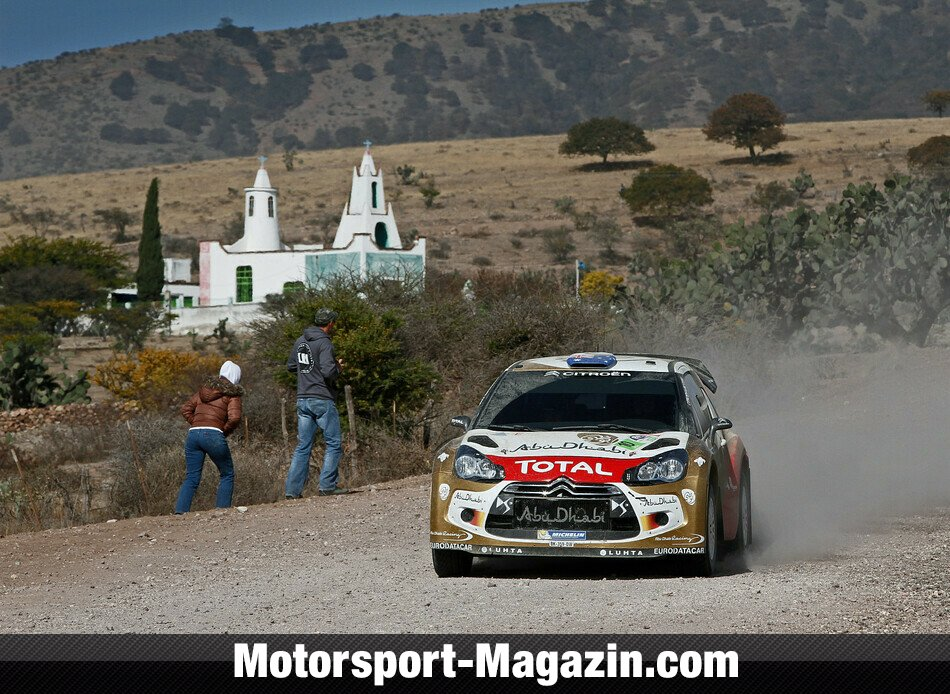 WRC 2013, Rallye Mexiko, Leon-Guanajuato, Chris Atkinson, Citroen World Rally Team, Bild: Citroen