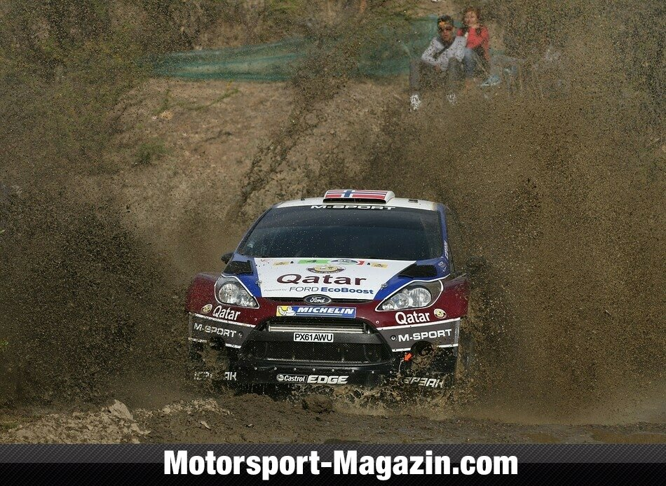 WRC 2013, Rallye Mexiko, Leon-Guanajuato, Mads �stberg, Ford World Rally Team, Bild: Ford