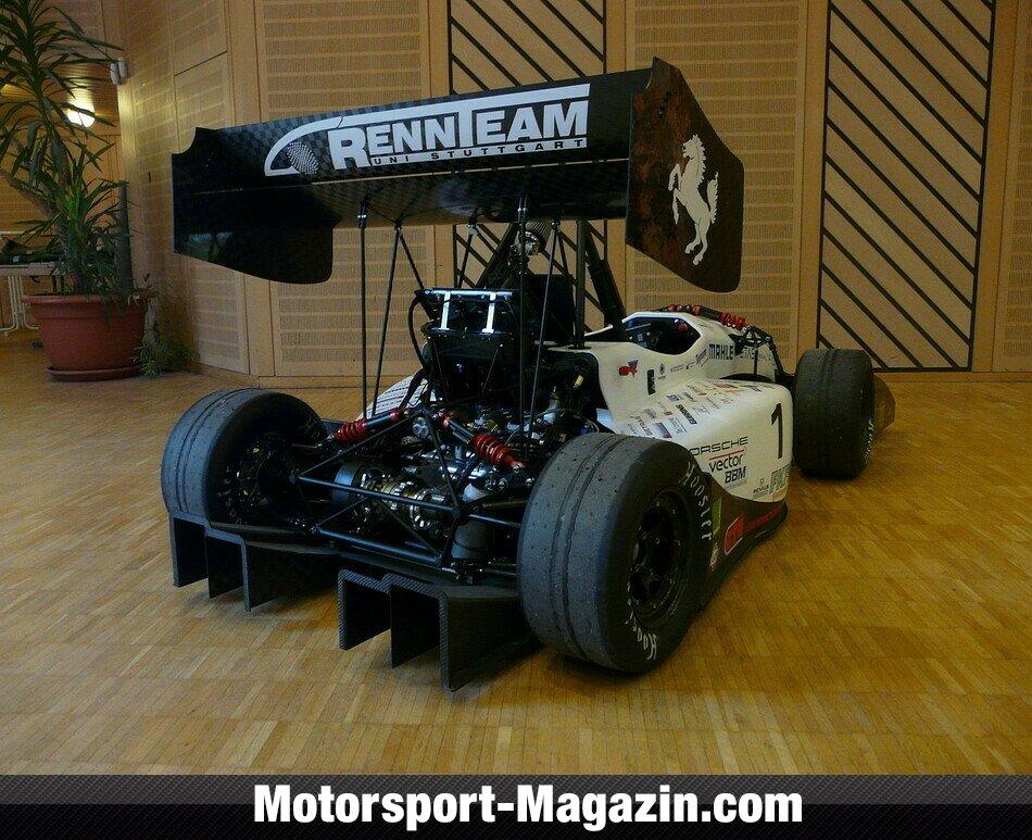 Rollout Rennteam Uni Stuttgart Formula Student Motorsport Magazin Com
