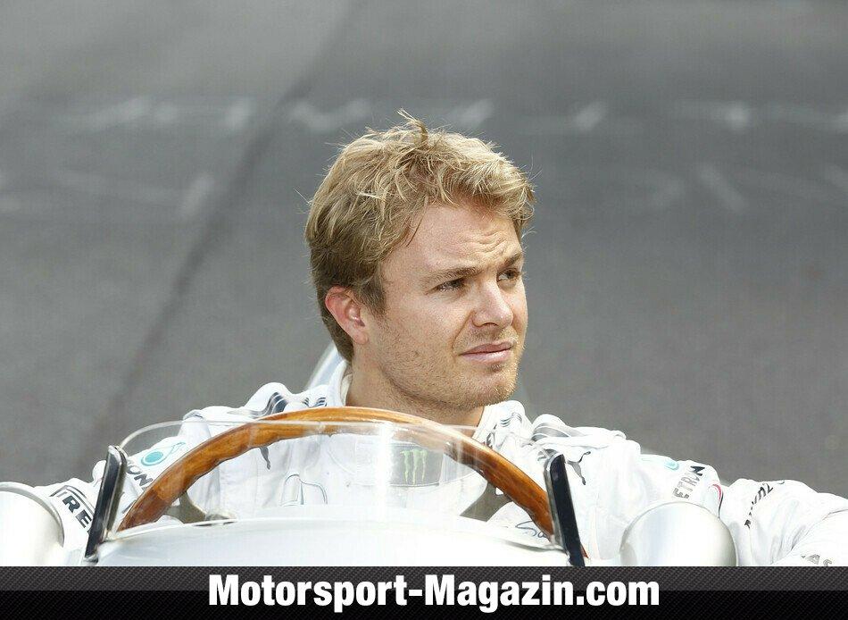 Formel 1 2013, Deutschland GP, Nürburg, Nico Rosberg, Mercedes AMG, Bild: Mercedes-Benz