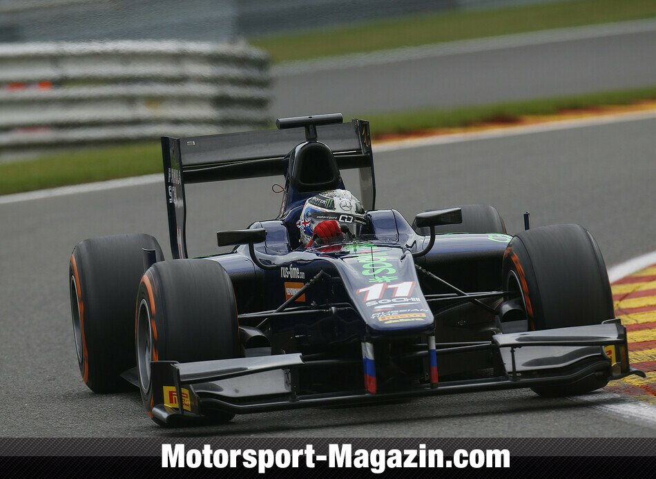 GP2 2013, Spa-Francorchamps, Spa-Francorchamps, Sam Bird, RUSSIAN TIME, Bild: GP2 Series