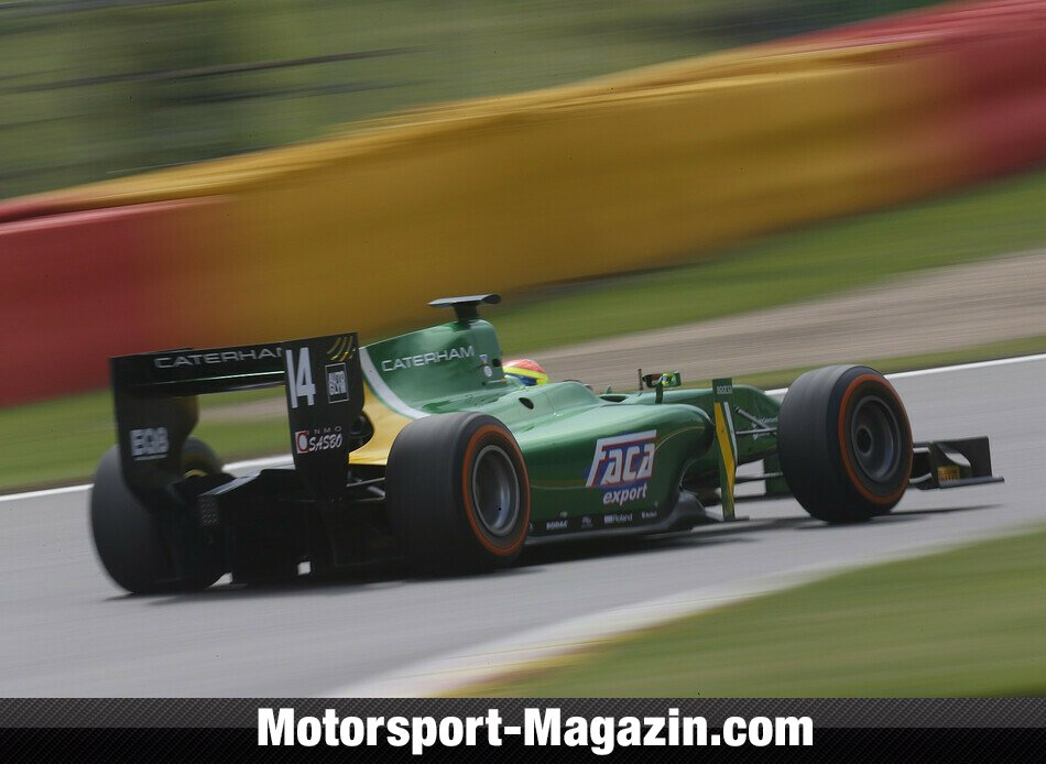 GP2 2013, Spa-Francorchamps, Spa-Francorchamps, Sergio Canamasas, EQ8 Caterham Racing, Bild: GP2 Series