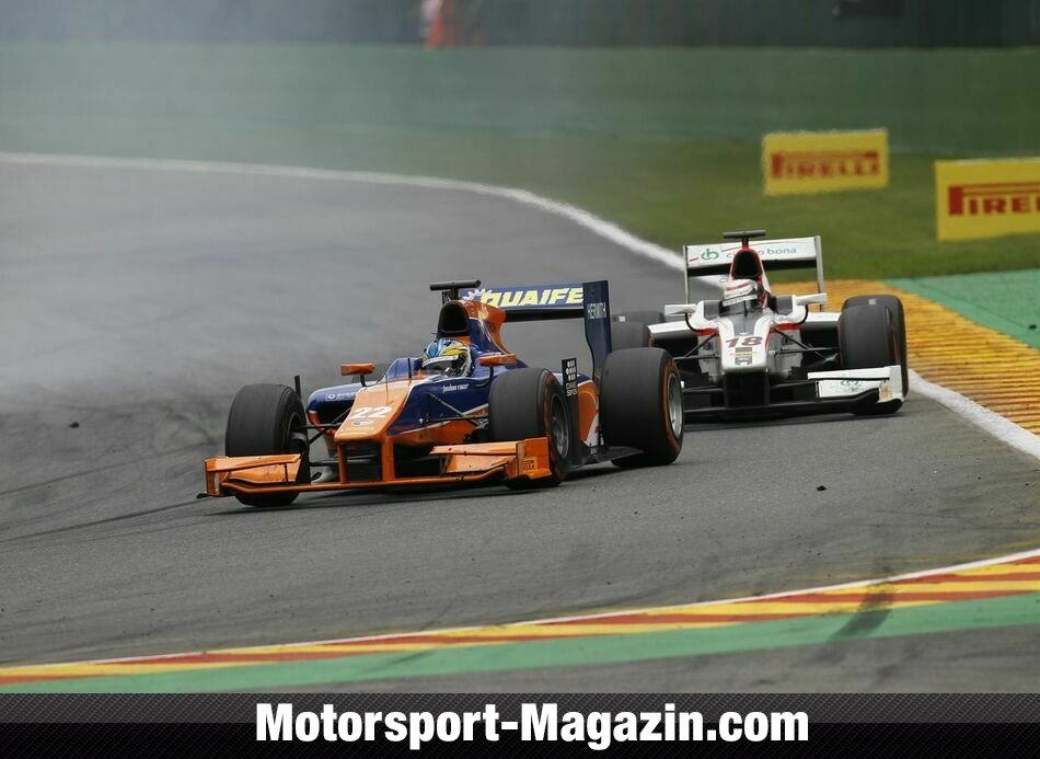 GP2 2013, Spa-Francorchamps, Spa-Francorchamps, Adrian Quaife-Hobbs, Hilmer Motorsport, Bild: Alastair Staley/GP2 Series Media Service
